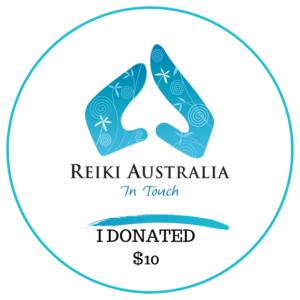 Reiki Australia DONATE $10