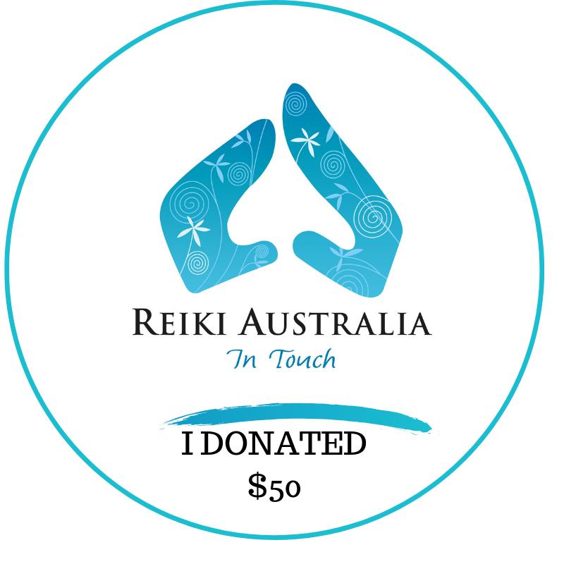 Reiki Australia Donate 50