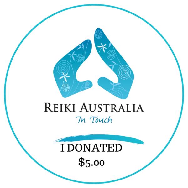 Reiki Australia Donate $5
